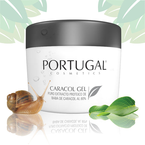 Organic Baba De Caracol Snail Gel for Wrinkles, Acne, Burns, Blemishes, Scars