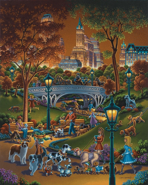 Eric Dowdle Dog Walkers 500 pc puzzle