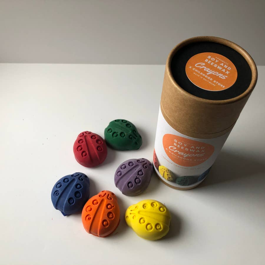 Soy & Beeswax Shaped Crayons