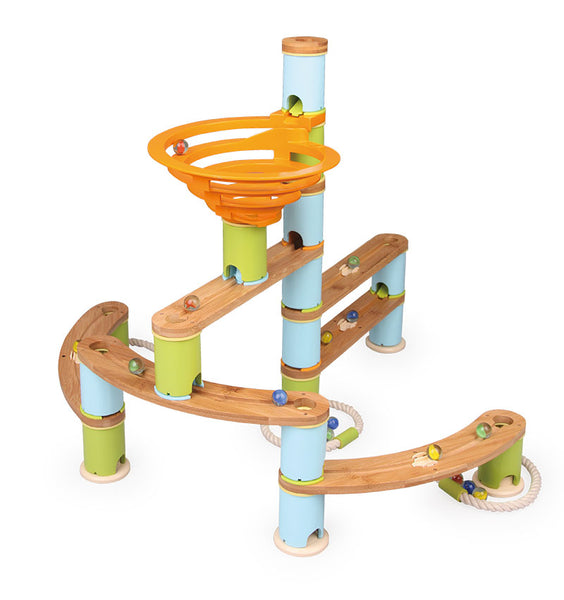 Bamboo Builder Marble Run 119 pc