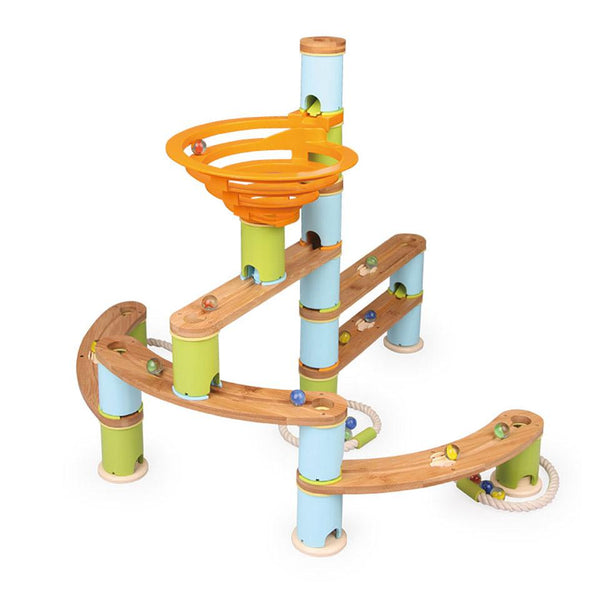 Bamboo Builder Marble Run 78 pc