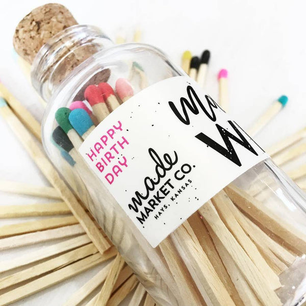 Make a Wish Vintage Apothecary Candles