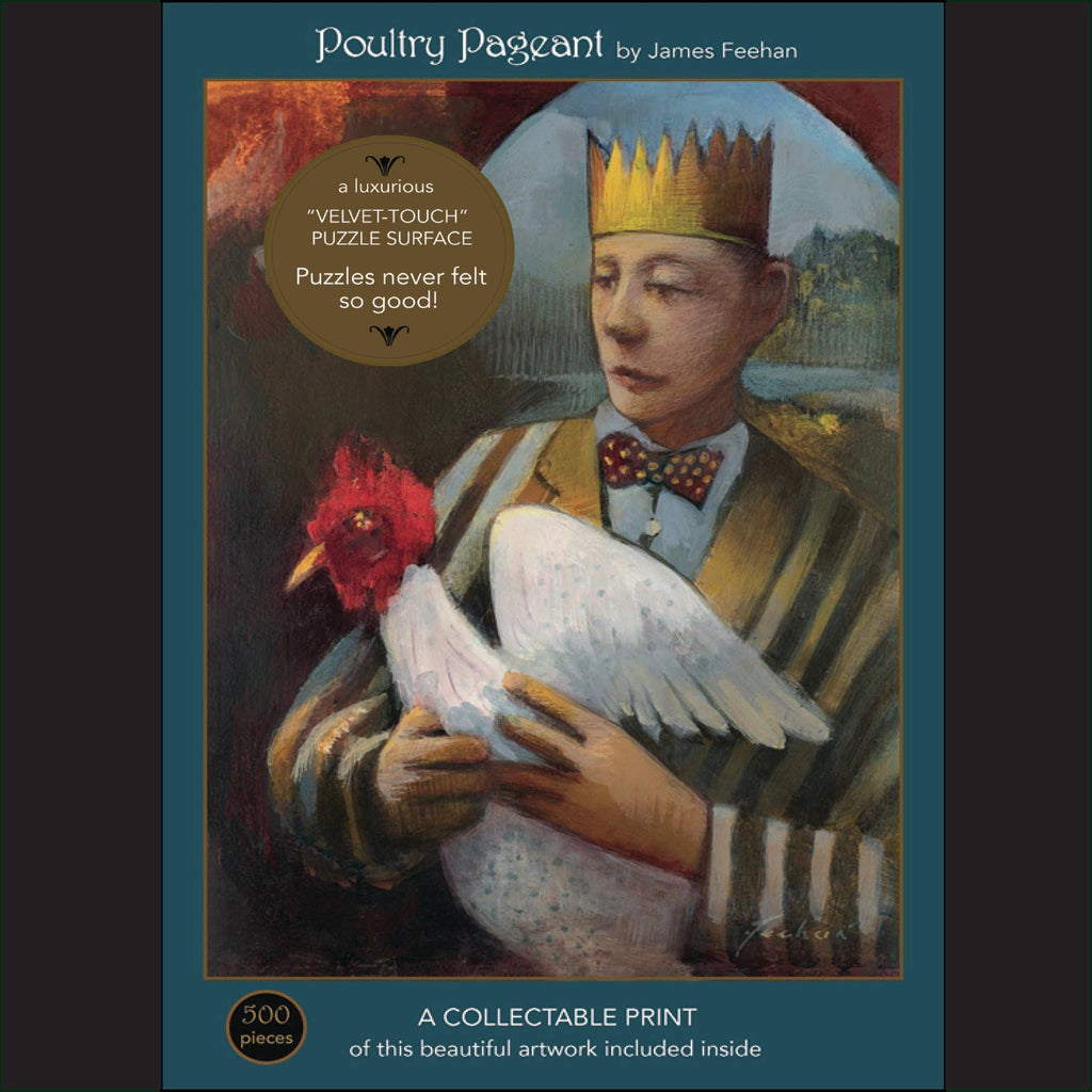 Poultry Pageant 500 piece puzzle