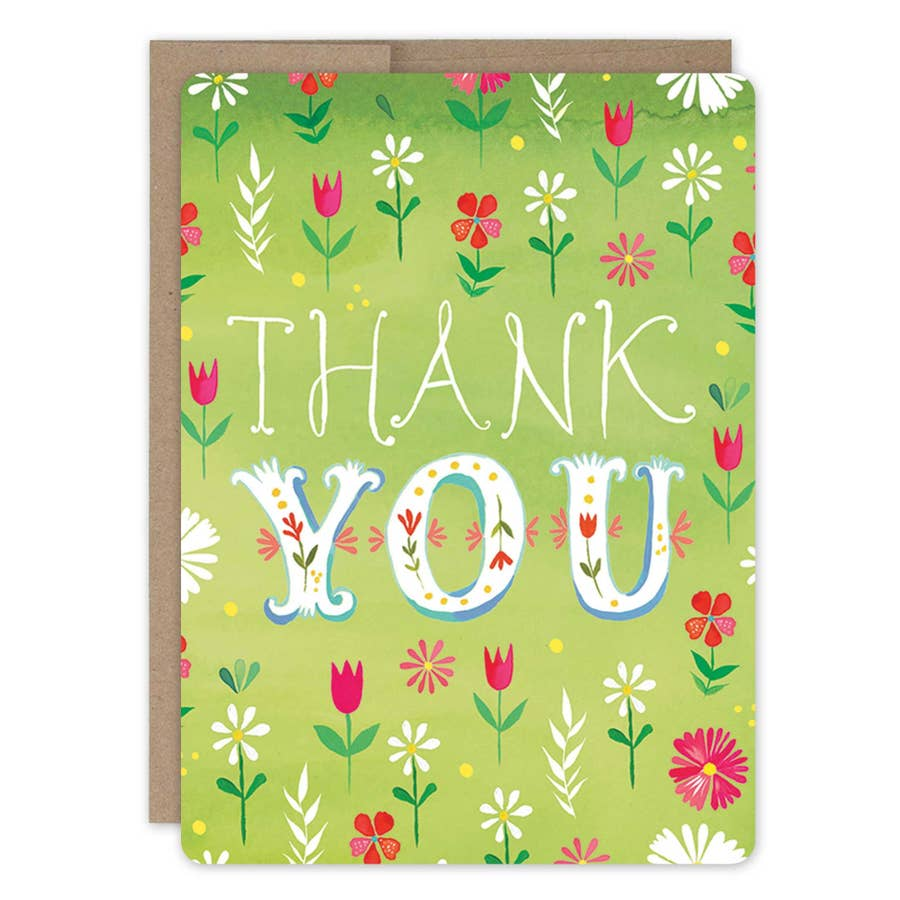 Katie Daisy Thank You Card Packs of 10