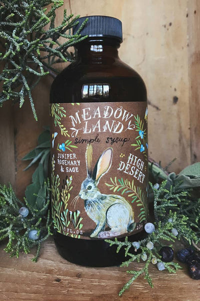 Meadowland Syrup: High Desert Juniper Rosemary & Sage