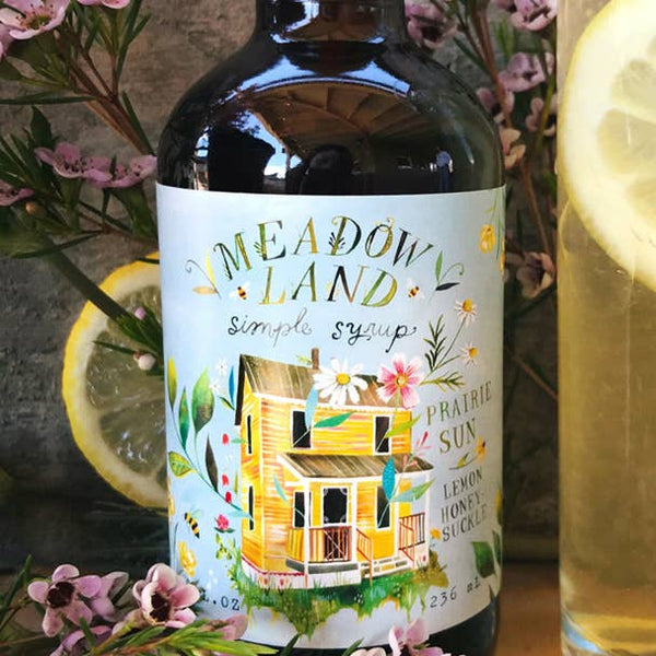 Meadowland Syrup: Prairie Sun Lemon Honeysuckle