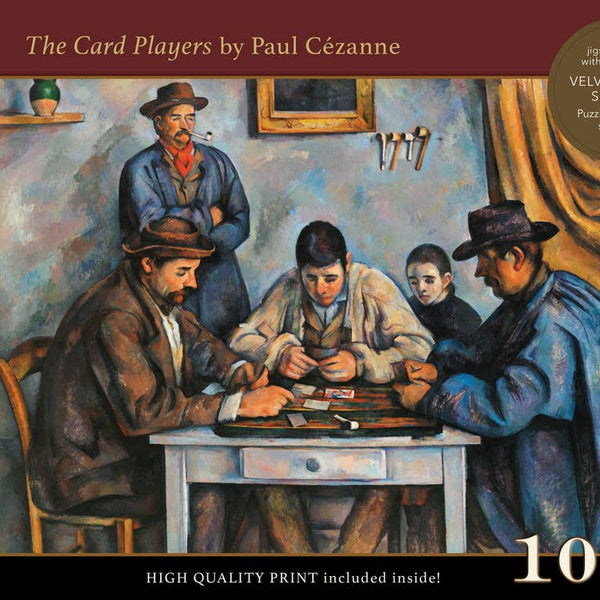 The Card Players 1000 piece puzzle