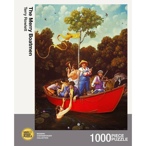The Merry Boatmen 1000 piece puzzle