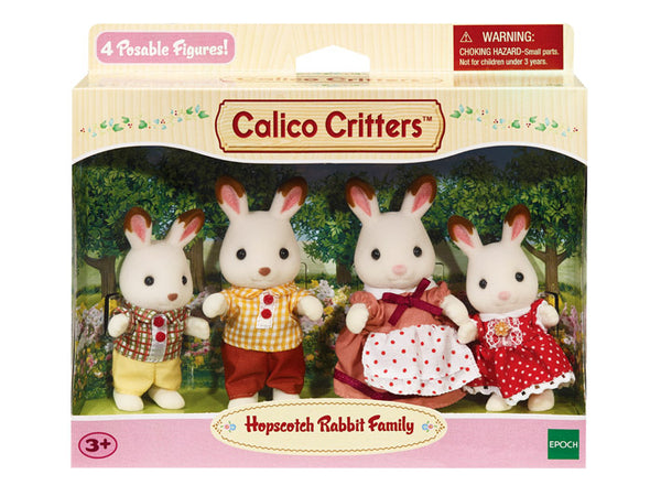 Calico Critters Hopscotch Rabbit Family - Through the Moongate and Over the Moon Toys