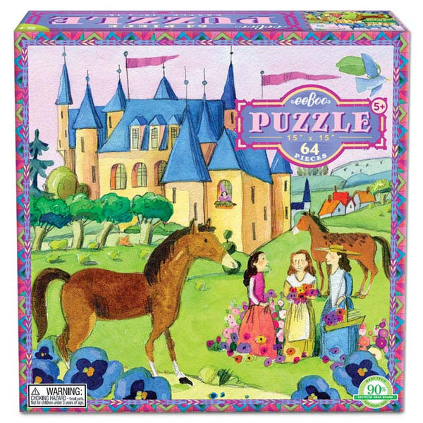 Castle 64 piece puzzle - Through the Moongate and Over the Moon Toys