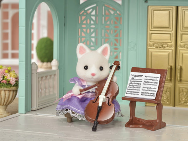 Calico Critters Town Cello Concert Set