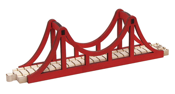 Name Train Suspension Bridge - Through the Moongate and Over the Moon Toys