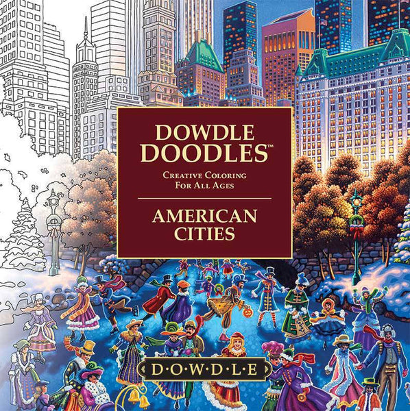 Dowdle Doodles American Cities - Through the Moongate and Over the Moon Toys