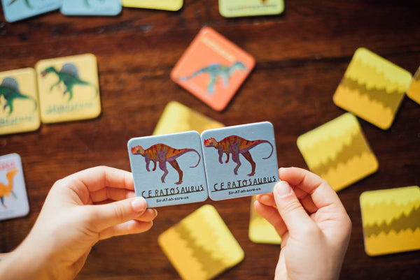 Dinosaurs Little Memory & Matching Game