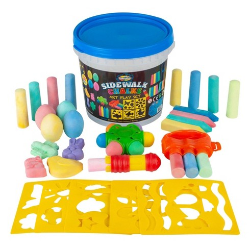 Sidewalk Chalk Playbucket