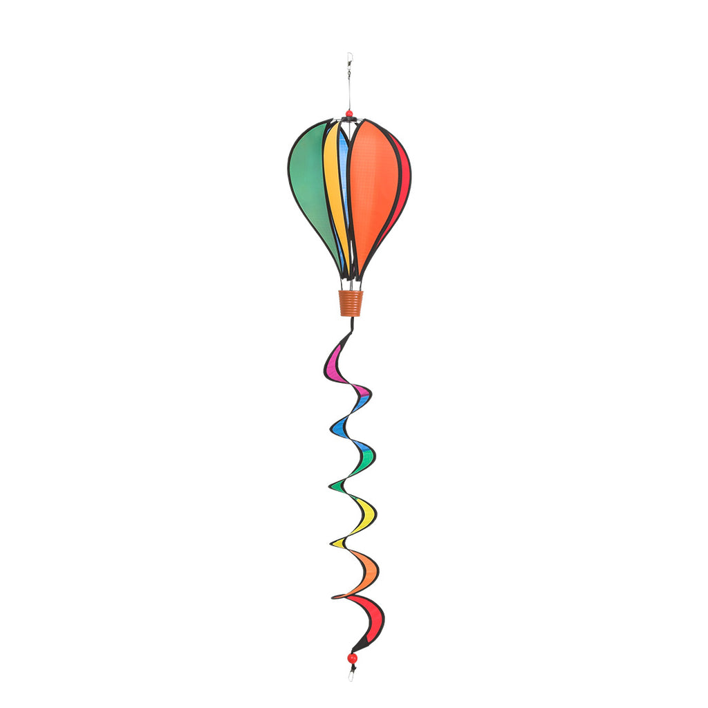 Windspiration Mini Hot Air Balloon Twist Rainbow