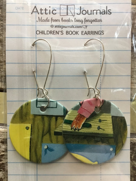 Book Lover Earrings
