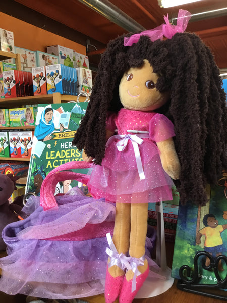 "Super Soft 14"" Ballerina Dollz with Purse"