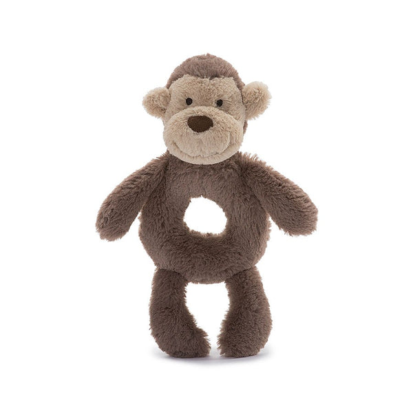 Bashful Monkey Rattle and Soother