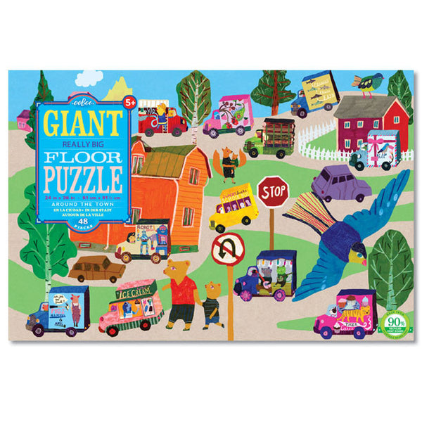 All Around the Town really BIG giant floor puzzle