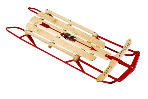 "Classic 48"" Flexible Flyer Steel Runner Sled"