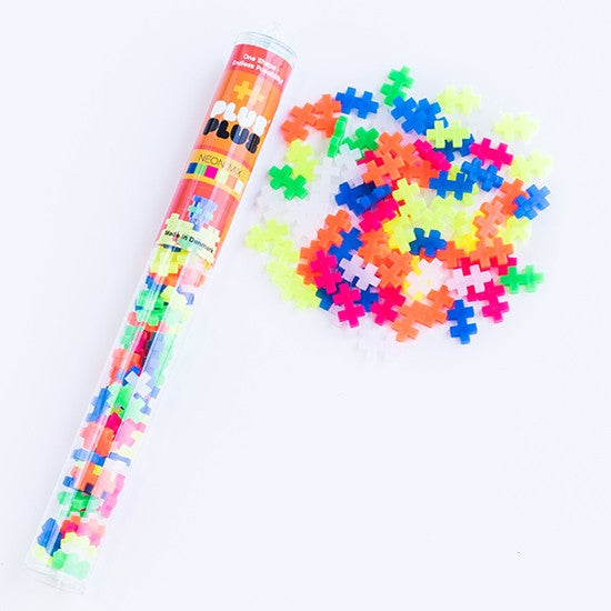 Plus Plus 70pc Tube - Through the Moongate and Over the Moon Toys