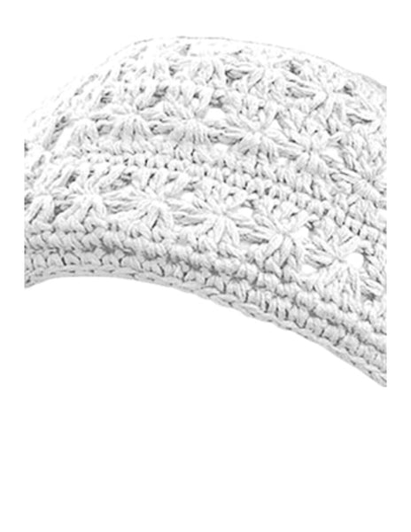 Crochet Fleece Lined Headband