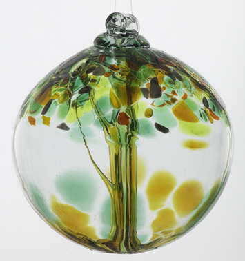 "Tree of Enchantment 6"" Art Glass"