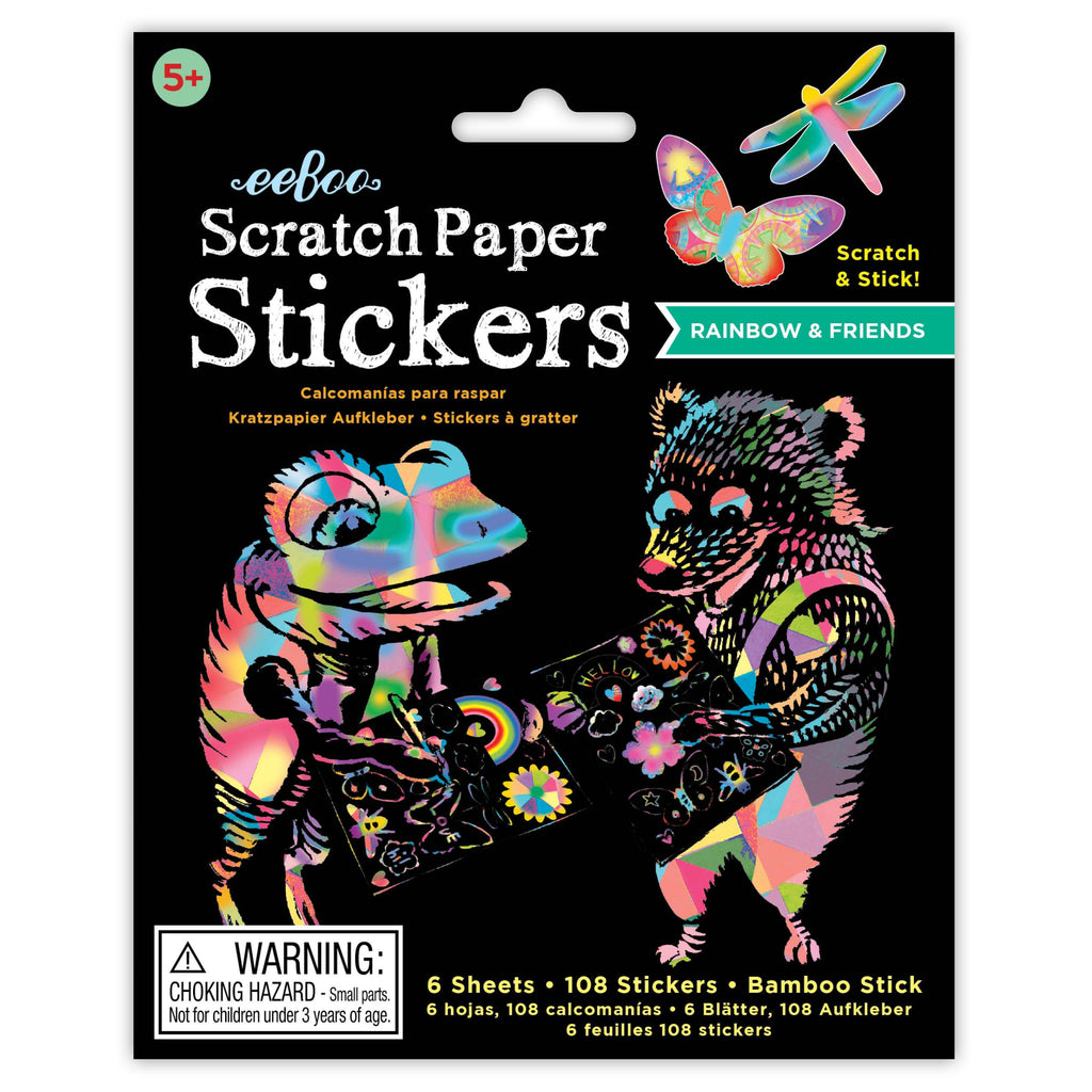 Scratch Sticker Paper