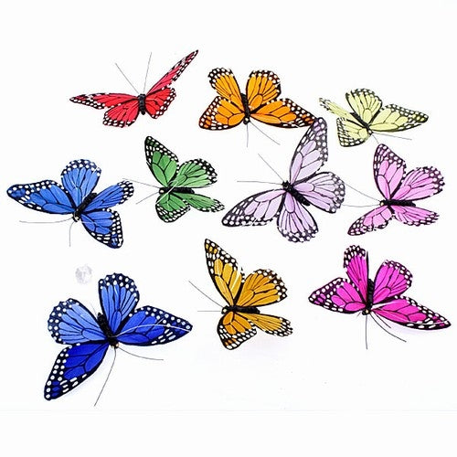 Rainbow Butterfly Garland Small