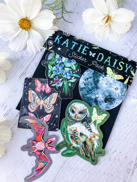 Katie Daisy Sticker sheets/sets