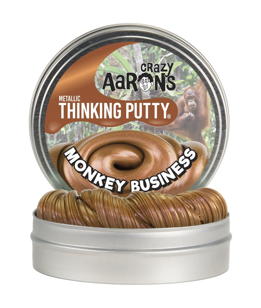 "Crazy Aaron's Thinking Putty 4"" Tin"