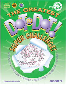 Greatest Dot-to-dot Super Challenge Books