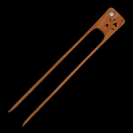 Moonspoon Wooden Toast Tongs 8""