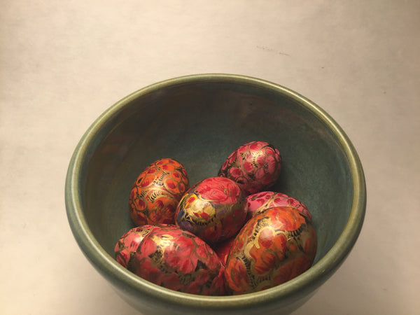 Tiny Hand-painted Eggs