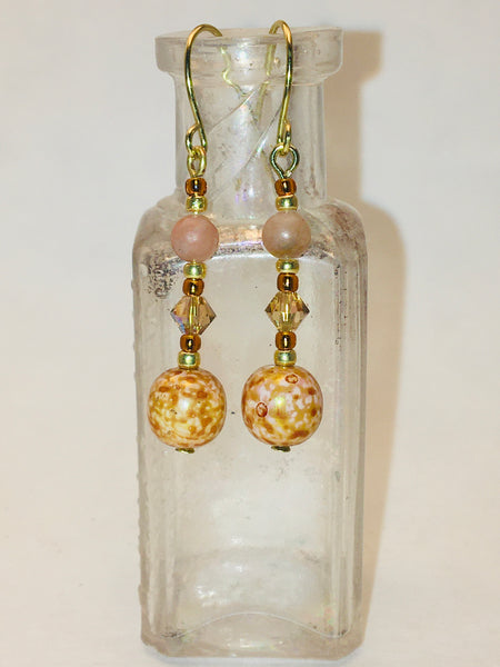 Moonladies Handmade Column Earrings