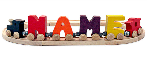 Name Train Letters - Brights