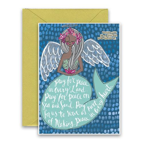 Curly Girl Holiday Greeting Cards