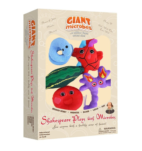 Giant Microbes Shakespeare Plays Boxed Set