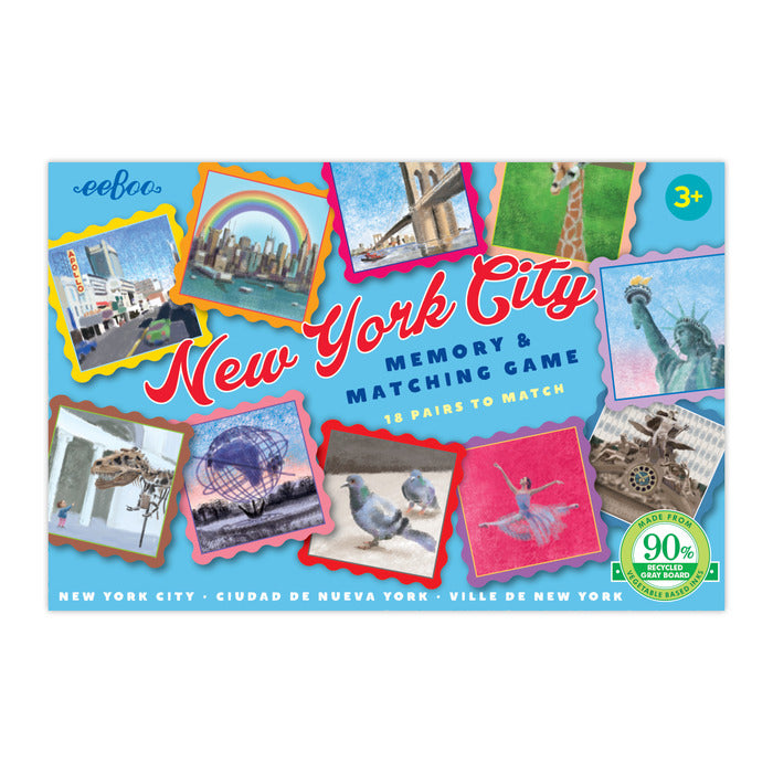 New York City Little Memory & Matching Game