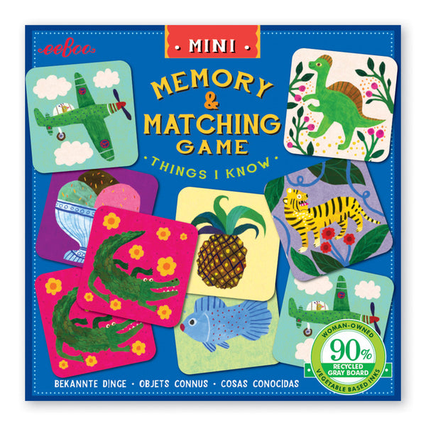 Mini Memory & Matching Games