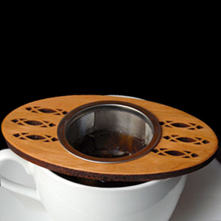 Moonspoon Wooden Tea Strainer