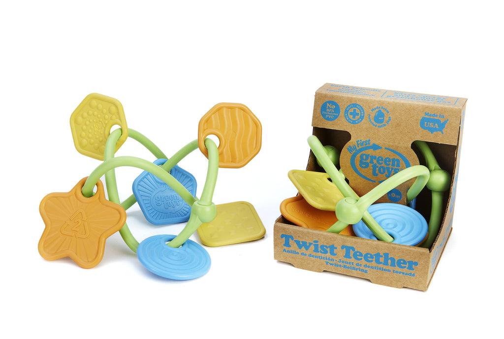 Green Toys™ Twist Teether - Through the Moongate and Over the Moon Toys