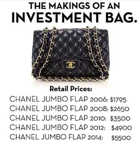 CHANEL IS THE FASHION LOVER'S HEDGE FUND