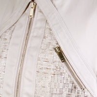 Woven Detail Jacket
