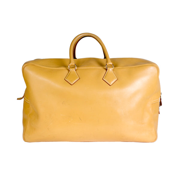 Victoria Bag in Mustard Yellow Leather
