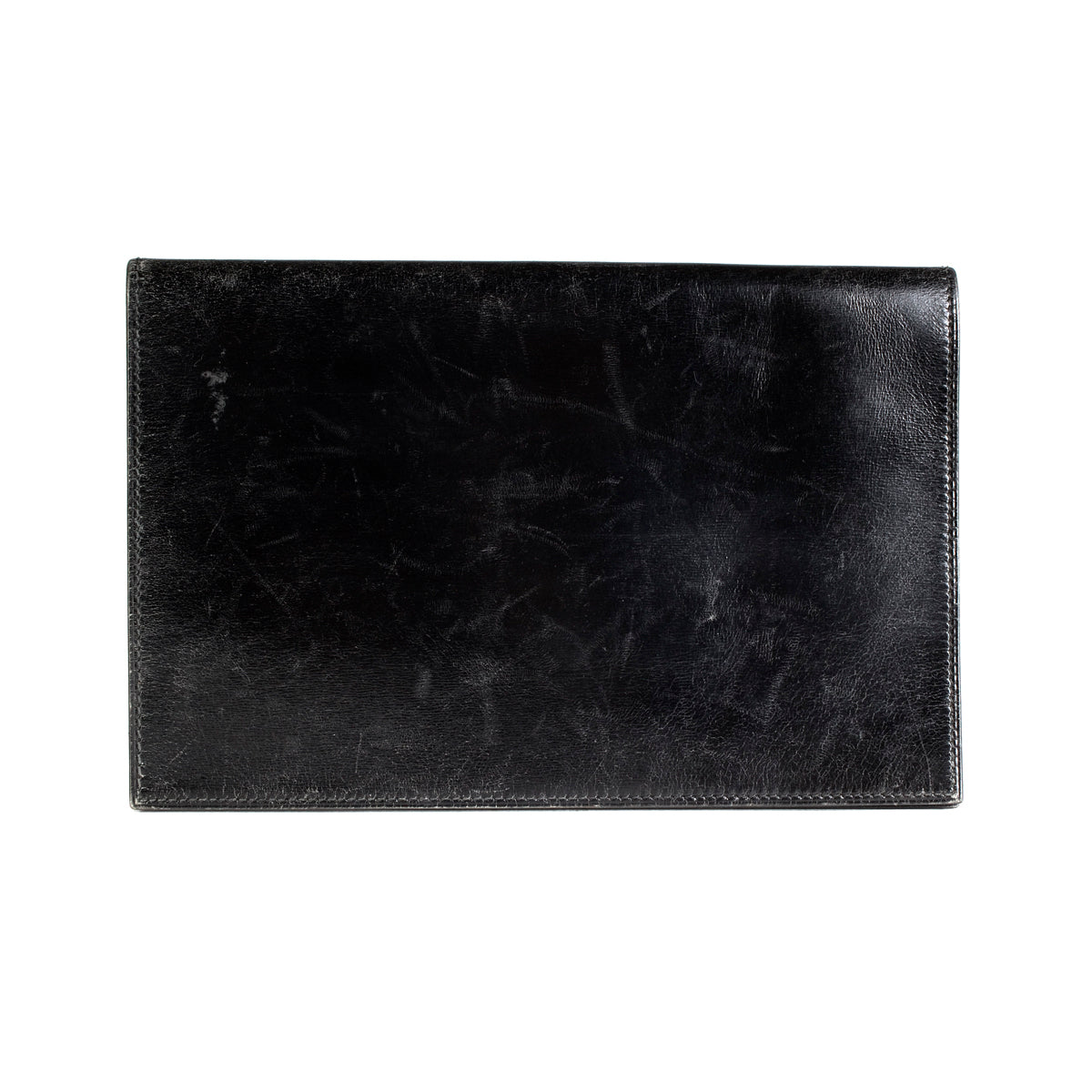 Black Leather Notebook Case