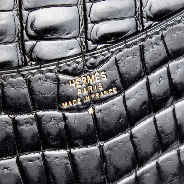 Black Croc Notebook
