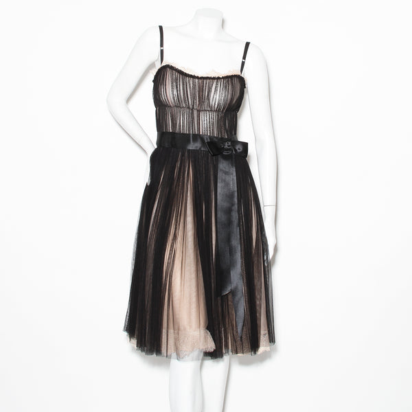 D&G Tulle and Lace Dress