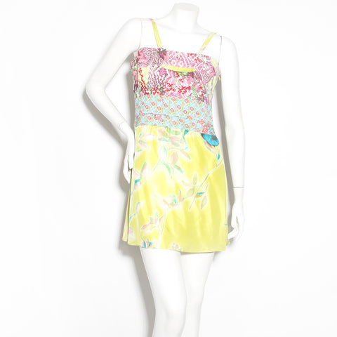 Lacroix Multicolor Floral Mini Dress